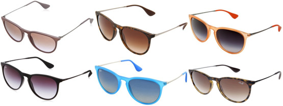 Ray-Ban Erika Sunglass Colors