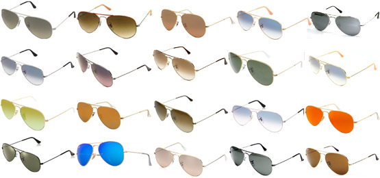 ray ban colors  Ray-Ban RB3025 Aviator Review \u2013 Flight Worthy Sunglasses!