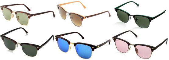 Ray-Ban Clubmaster Color Options