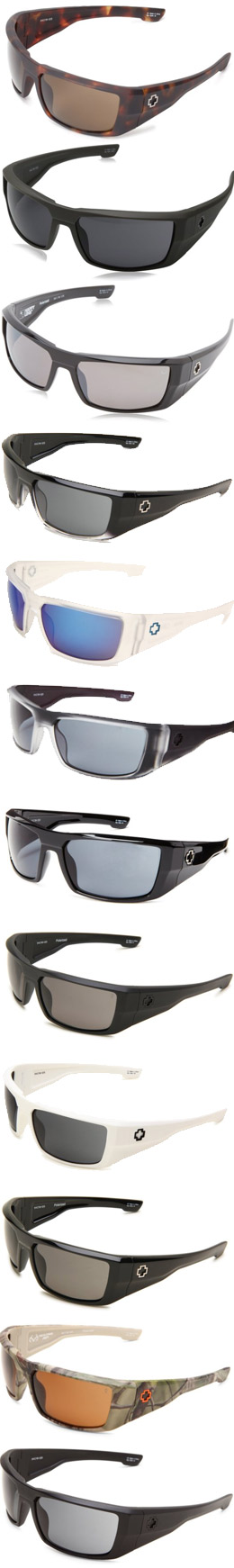 Spy Optic Dirk Design Options