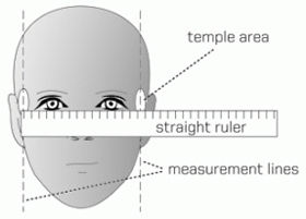 how to measure for sunglasses cdka  measuring